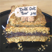 Date Oat Bar - exceedingly moorish!