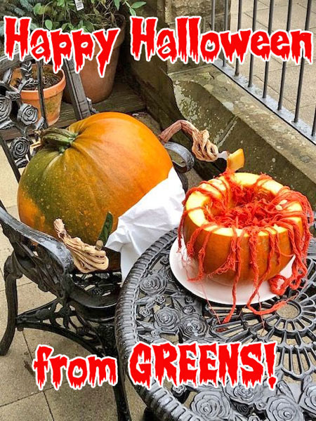 Happy Halloween from Greens!